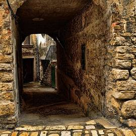 Entry From Backstreets of Rovinj by Norman Gabitzsch