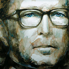 Eric Clapton watercolor by Laur Iduc