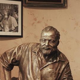 Ernest Hemingway Bronze Cuba by Jo Ann Tomaselli