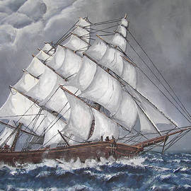 Escaping the Storm by Deborah Strategier