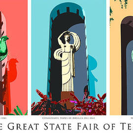 Robert J Sadler - Esplanade Statues - State Fair of Texas