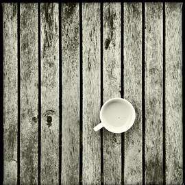 Marco Oliveira - Espresso On A Wooden Table