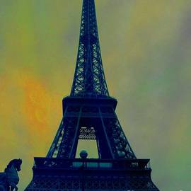 Evening Eiffel Tower by Marina McLain