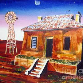 Roberto Gagliardi - Evening falling in the Australian Outback