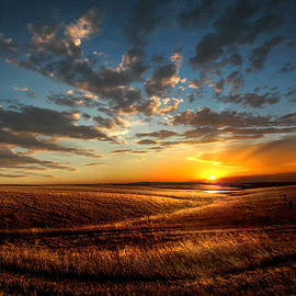Rod Seel - Evening Glow in Chase County