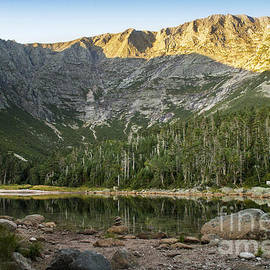 Evening Light on Mt Katahdin  by Alana Ranney