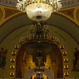 Evening Mass At St Sophia by Ed Gleichman