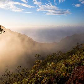 Allen Lefever - Evening Mist Over Kalalau Valley