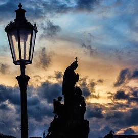 Christine Czernin Morzin - Evening Sky in Prague