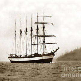 Everett G. Griggs Sailing Ship Washington state 1905 by California Views Archives Mr Pat Hathaway Archives