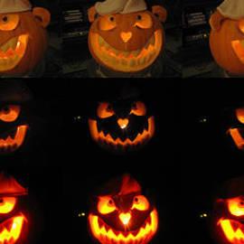 Evil Flippy Pumpkin by Shawn Dall