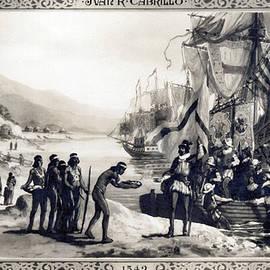 Explorer Juan Cabrillo by Underwood Archives