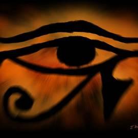 Eye of Horus Eye of Ra by John Wills
