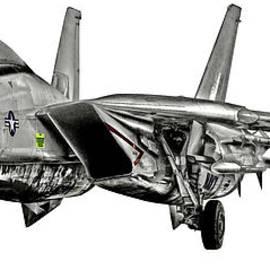 Clay Greunke - F-14 Forward Quarter
