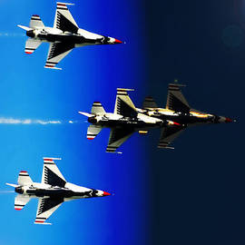 DigiArt Diaries by Vicky B Fuller - F16 Flight Into Space