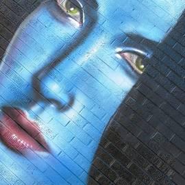 Face of Blue by Steven Parker
