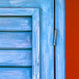 David Letts - Faded Blue Shutter III