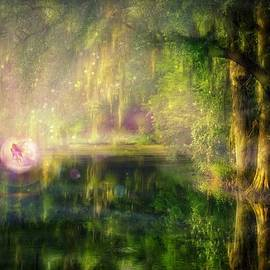 Lilia D - Fairy in Pink bubble in Serenity Forest