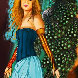 Fairy by Artist Nandika  Dutt