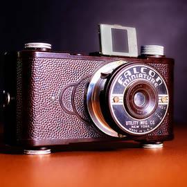 Falcon Miniature Camera in Tortoise-Shell Bakelite by Jon Woodhams