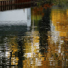Danielle Allard - Fall Colors Reflecting On The Water