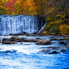 Fall Comes To Vickery Creek In Roswell by Mark E Tisdale
