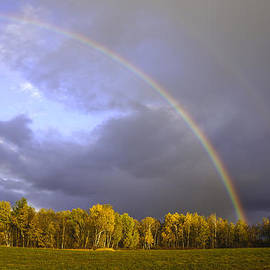 Kevin Snider - Fall double rainbow