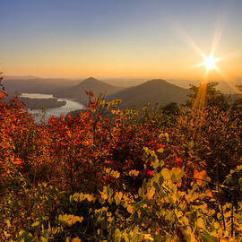 Fall Foliage by Debra and Dave Vanderlaan