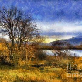 Fall Lake by Ian Mitchell