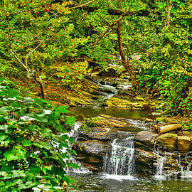 Falling Into Nantahala by Elvis Vaughn