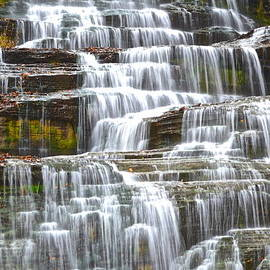 Falling Water by Frozen in Time Fine Art Photography