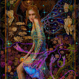 Steve Roberts - Fantasy Fairy Princess-Angel tarot card