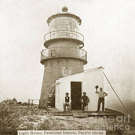 California Views Mr Pat Hathaway Archives - Farallon Island Lighthouse Pacific Ocean circa 1880