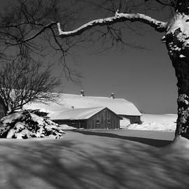 Philippe Boite - Farm in the snow
