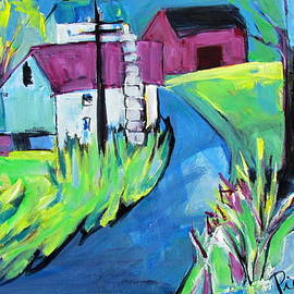 Betty Pieper - Farmhouse Down My Road in Spring