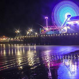 Jerry Cowart - Ferris Wheel Reflection