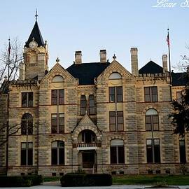 Fayette County Courthouse by Tessy  Braun