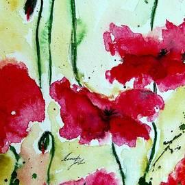 Ismeta Gruenwald - Feel the Summer 2 - Poppies