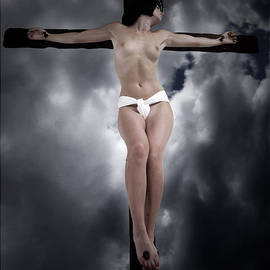 Ramon Martinez - Female Christ in the sky