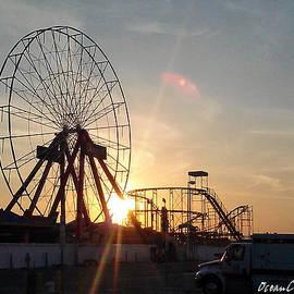 Robert Banach - Ferris Wheel at Dawn