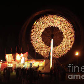Ferris Wheel Spin by Karol Livote