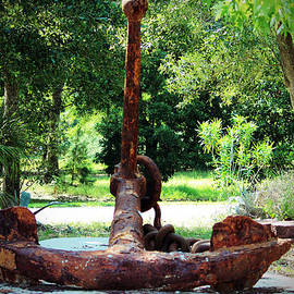 Fisherman's Anchor by Cynthia Guinn