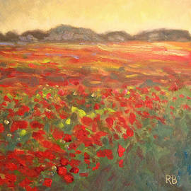 Field of Poppies by Robie Benve