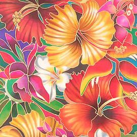 Fiji Flowers III by Maria Rova