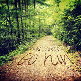 Find Yourself Go Run by Beverly Claire Kaiya