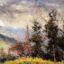 Pierre VALLON - Fir Trees In Ardeche