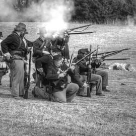 Fire By Ranks Civil War by John Straton