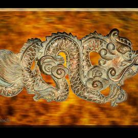 Fire Dragon Left by LeeAnn McLaneGoetz McLaneGoetzStudioLLCcom
