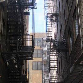 Fire Escape Chicago 2 by Anita Burgermeister