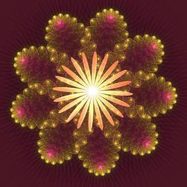 Svetlana Nikolova - Fire Flower Mandala